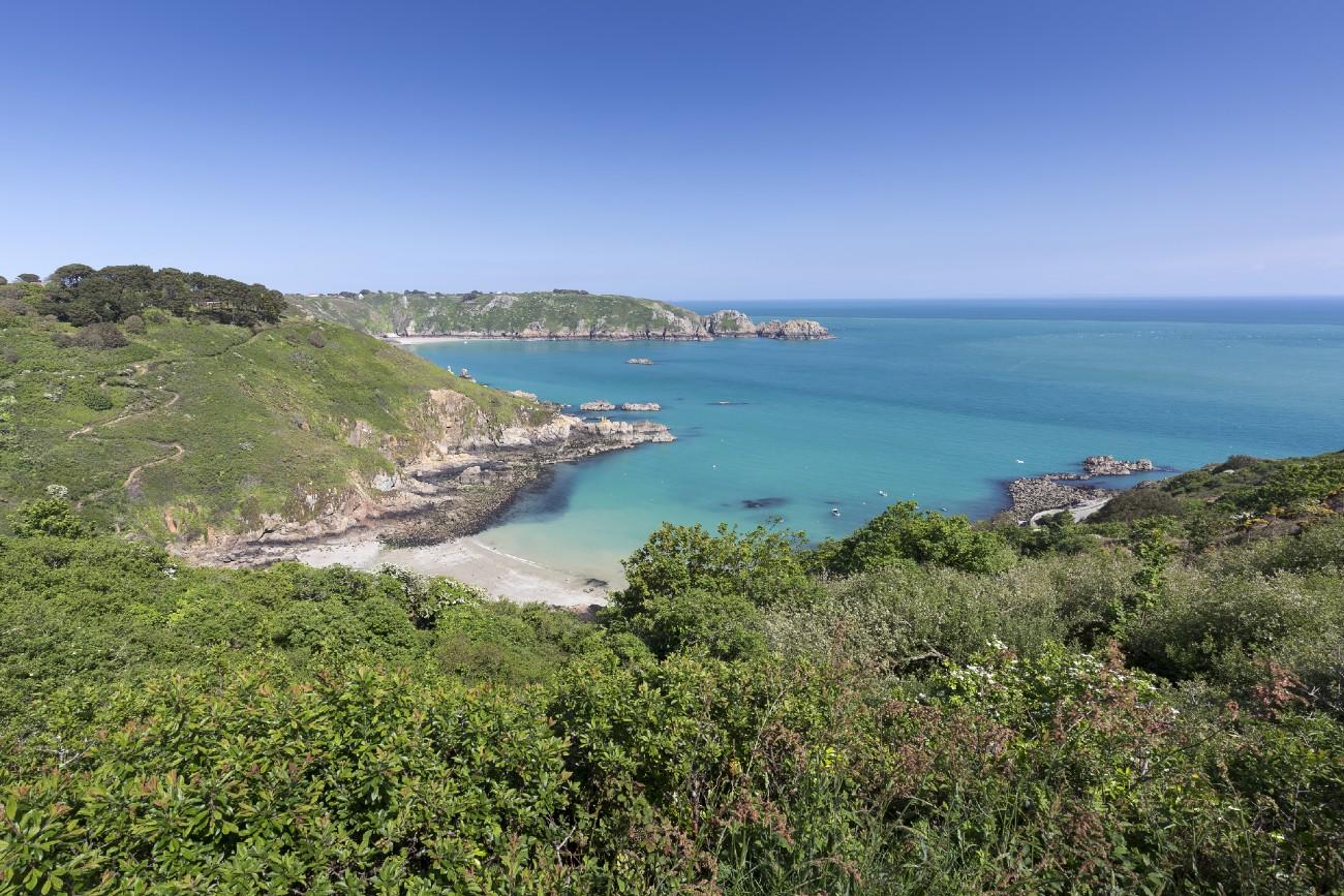 South Coast of Guernsey Island