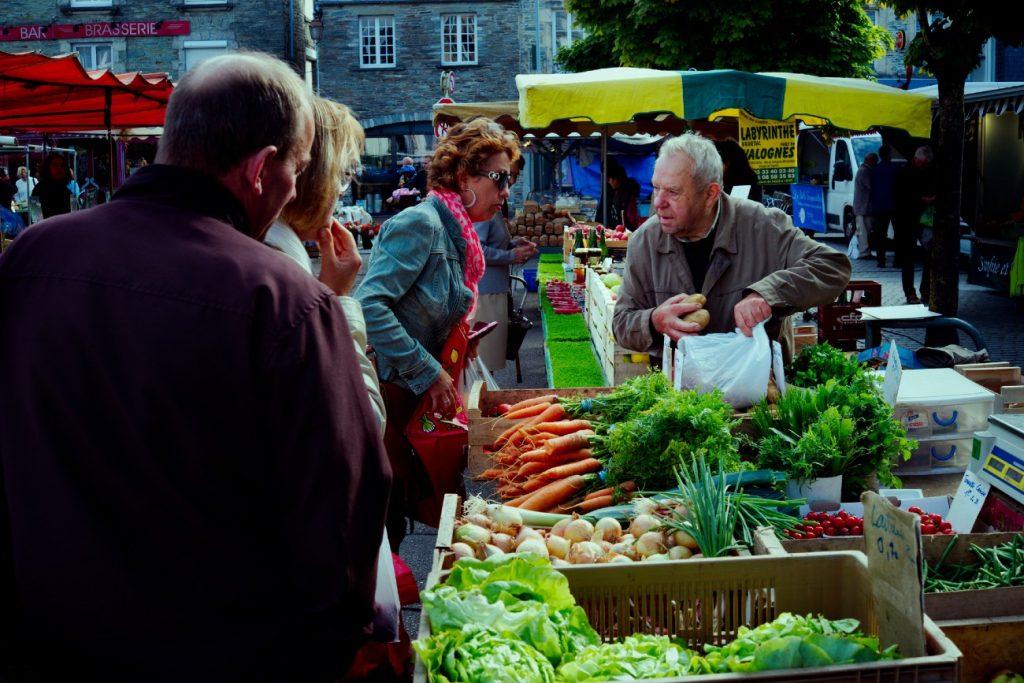 St Peter Port, Guernsey Island - local markets