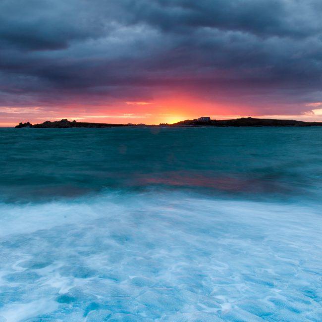 Sunset on West Coast of Guernsey
