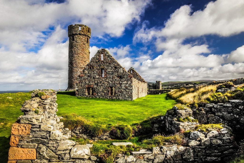 Peel Castle Tower, Isle of Man