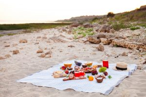 Picnic on the beach, Cuisine of Guernsey