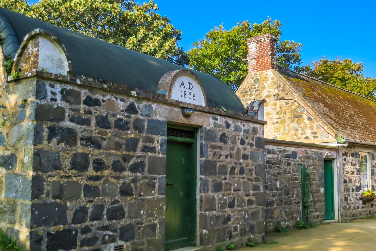 Ancient prison on the island Sark
