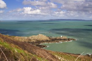 Jerbourg Point on Guernsey Channel islands