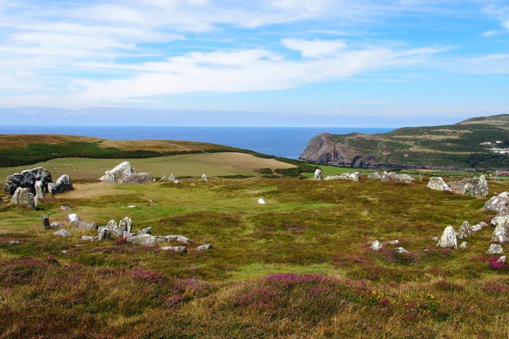 Neolithic Meayll Stone Circle, Isle of Man