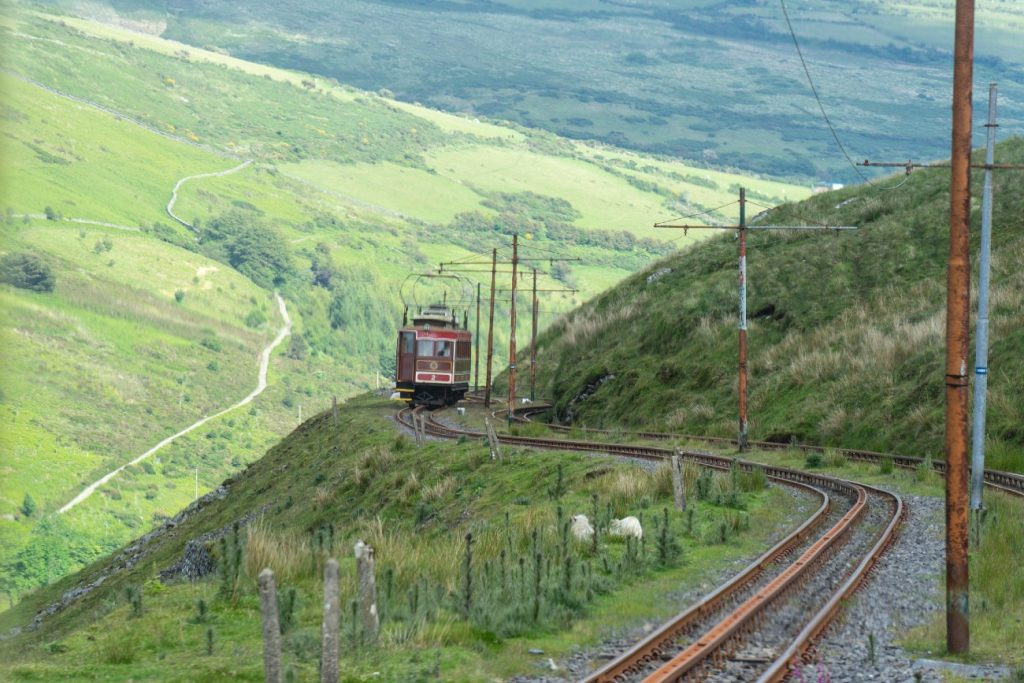 The Snaefell Mountain Railway, Isle of man