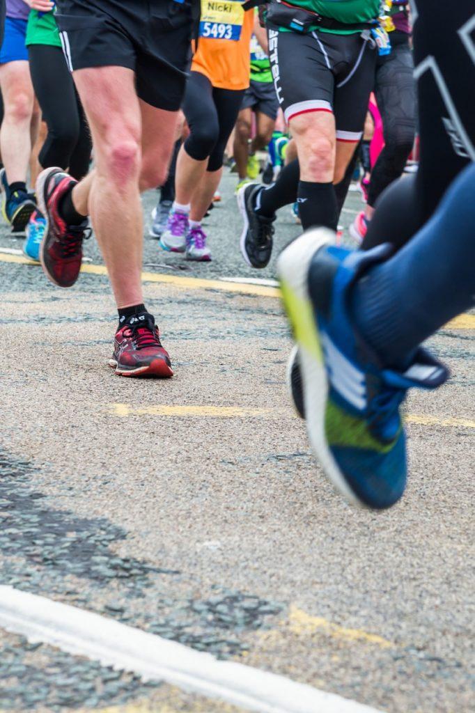 Running Marathon at the Channel Islands
