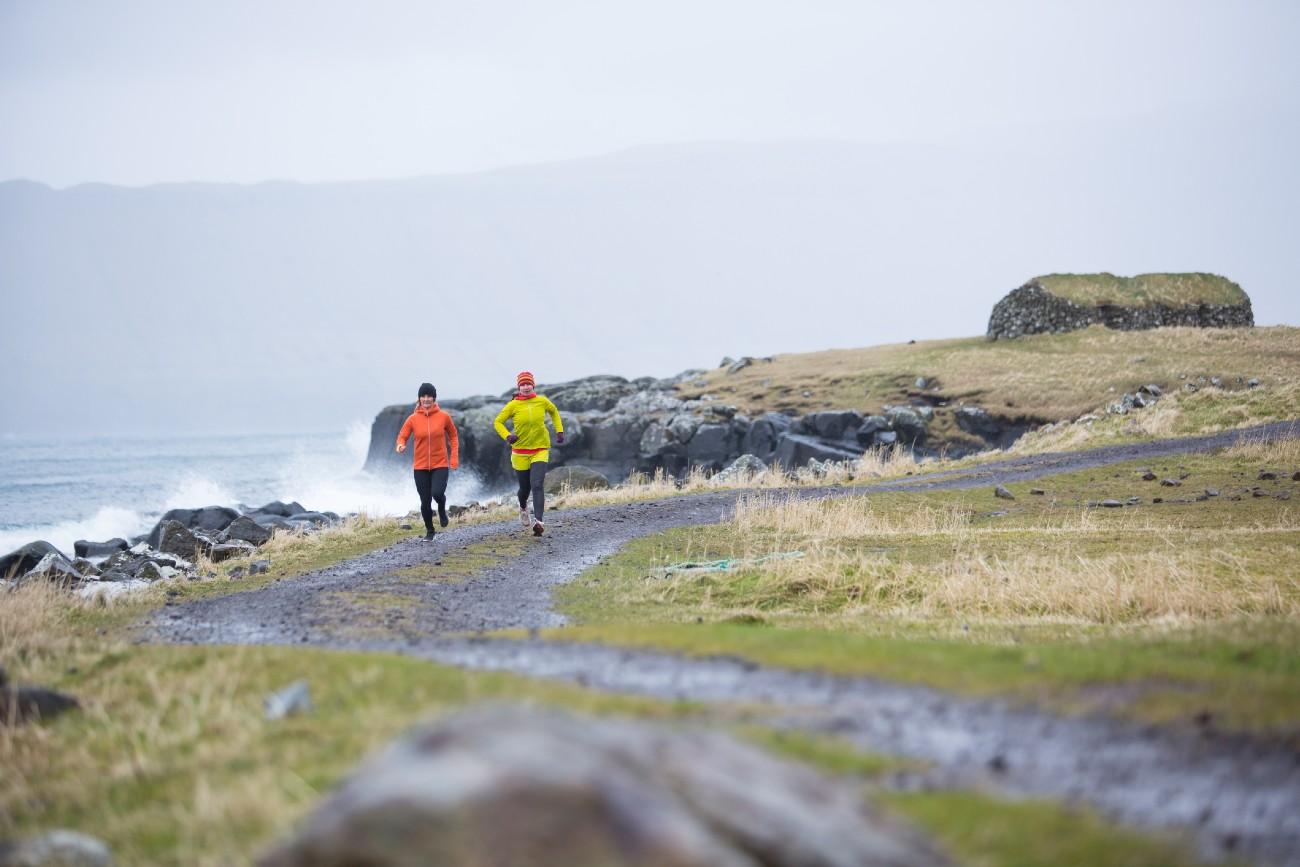 Winter running, Channel Islands
