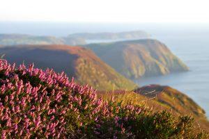 Beautiful coastline of Isle of Man