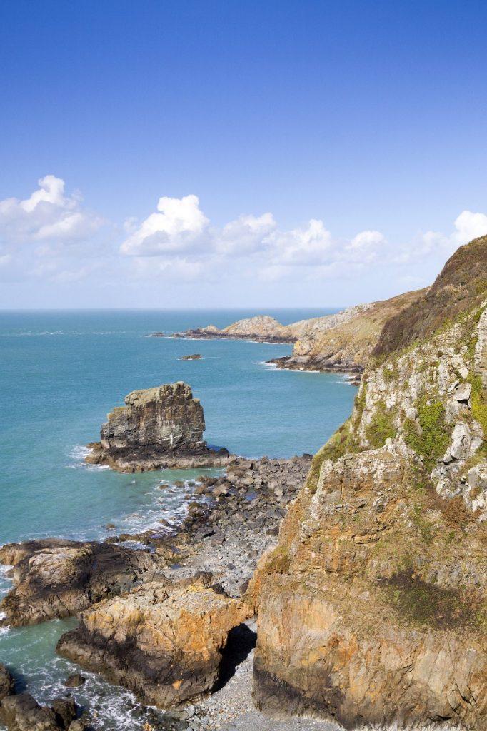 Coast of Sark Island, Channel Islands