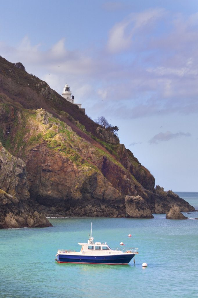 Coastal scene on Sark, Channel Islands