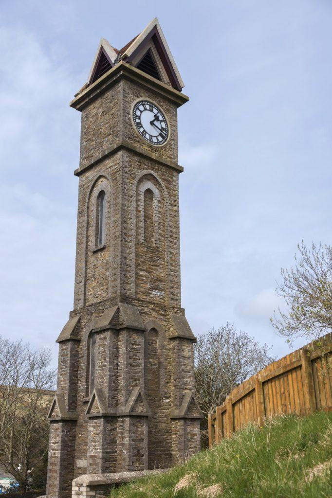 Foxdale clock tower, Isle of Man