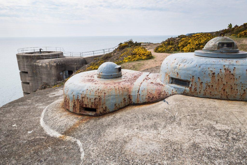 German bunkers, Jersey, Channel Islands