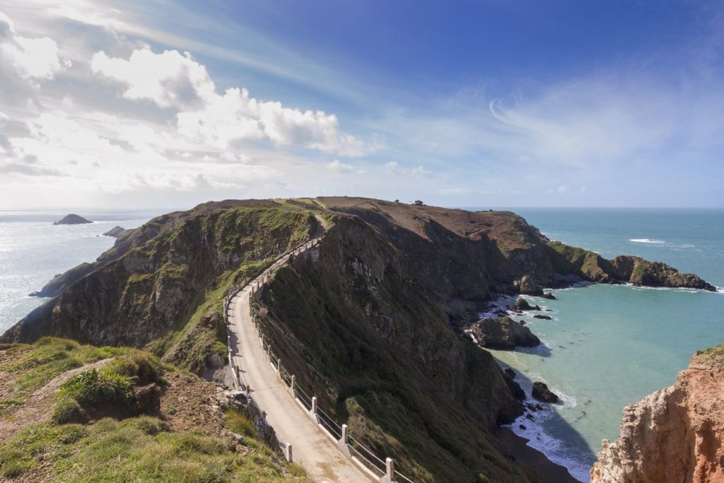 La Coupee, Sark, Channel Islands