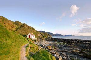 Niarbyl on the Isle of Man