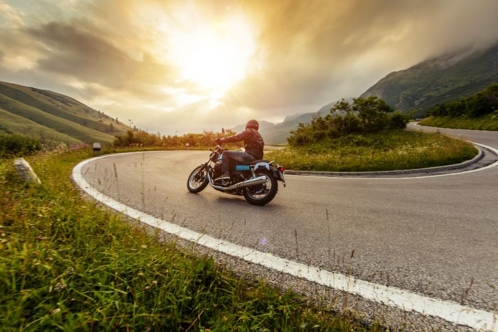 Motorcycling in the Channel Islands