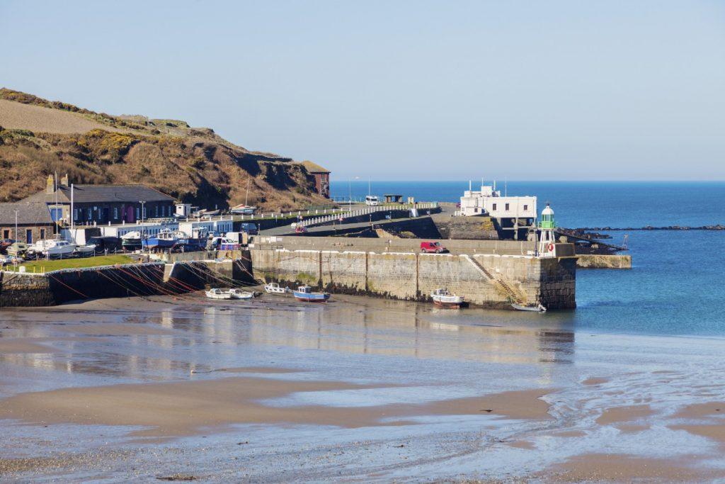 Port Erin on the Isle of Man