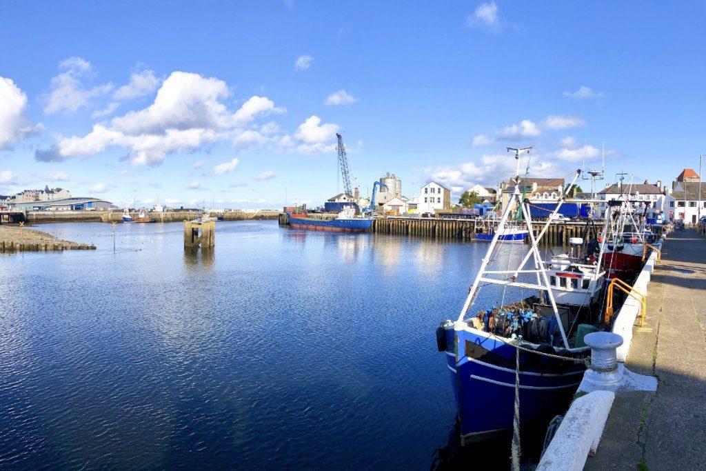 Ramsey Isle of Man docks and pier