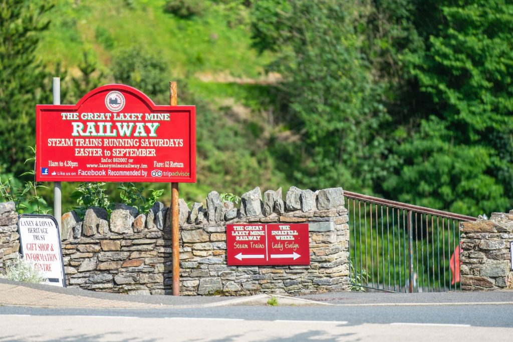 The Great Laxey Mine Railway, Isle of Man