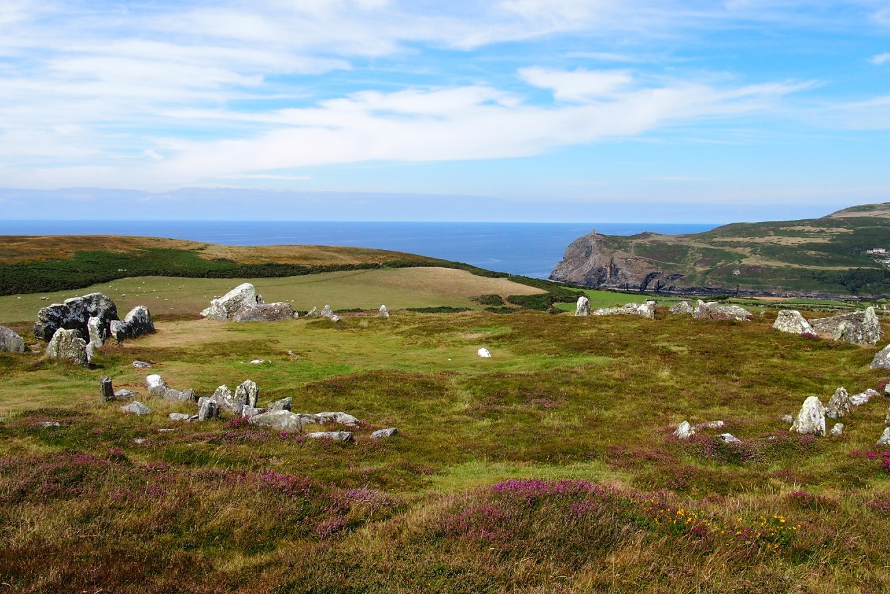 The Meayll Stone Circle, Isle of Man