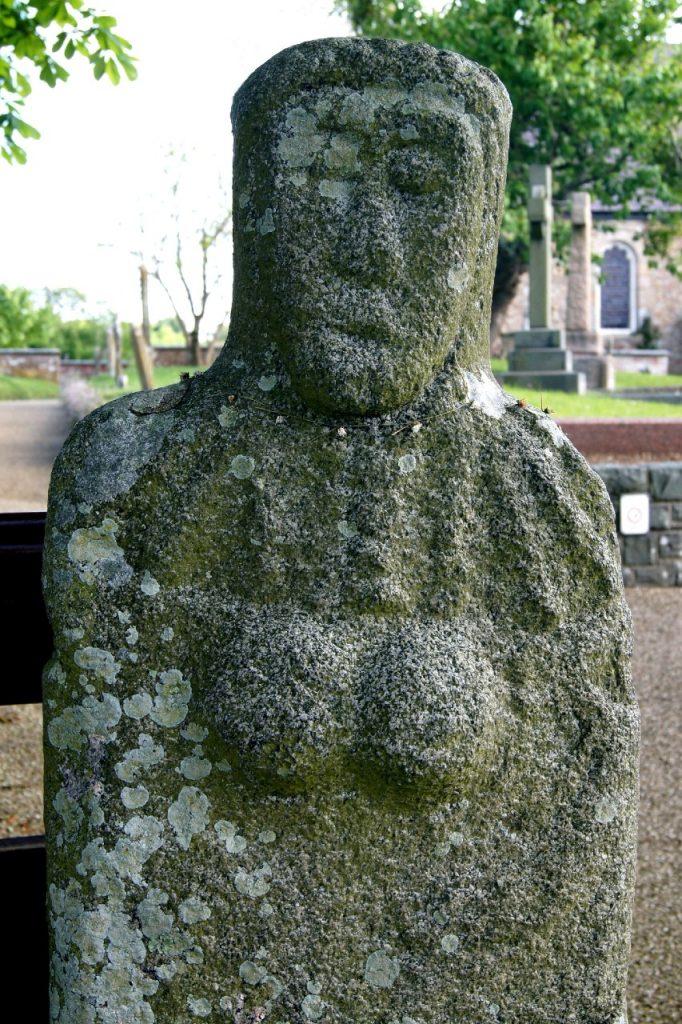 Guernsey La Gran Mere Du Chimquiere statue