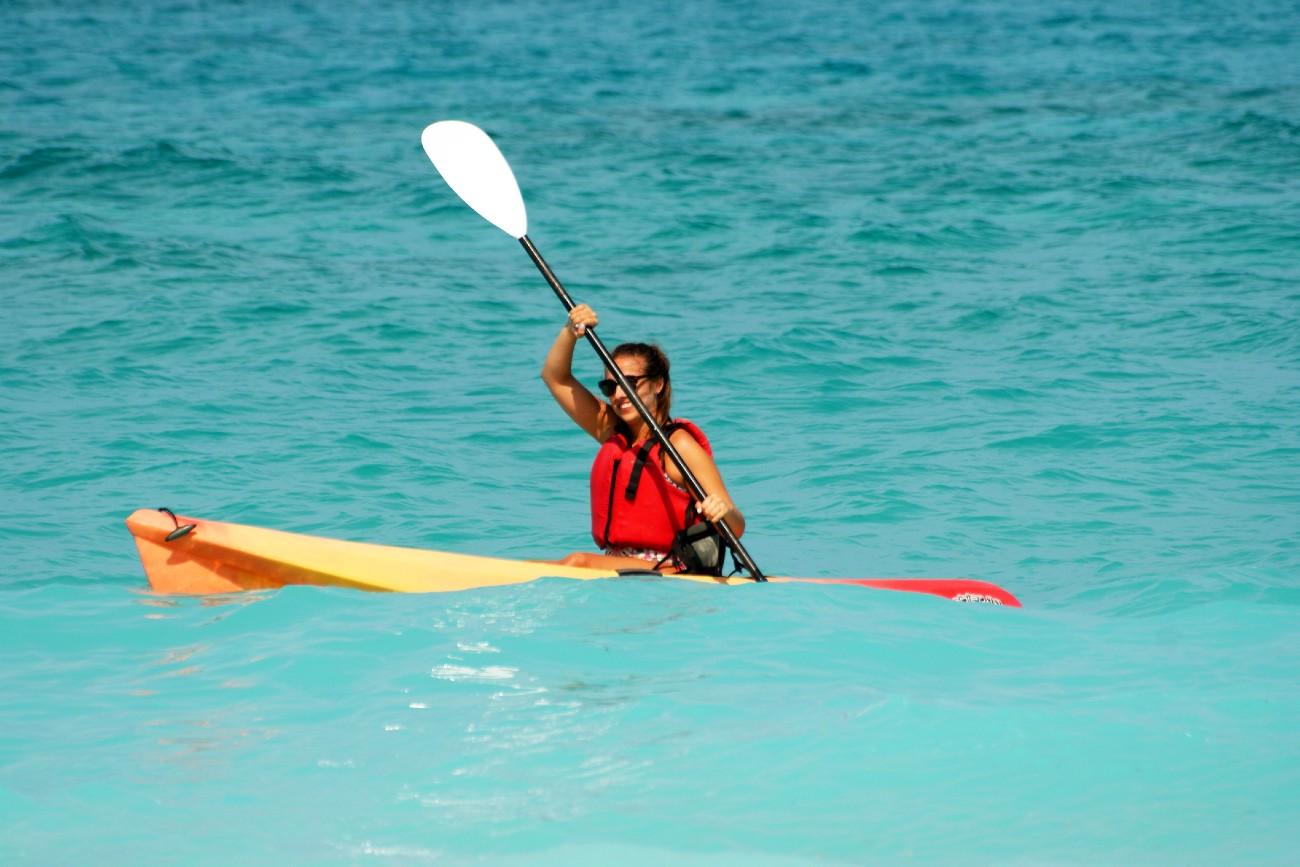 Kayaking at Guernsey