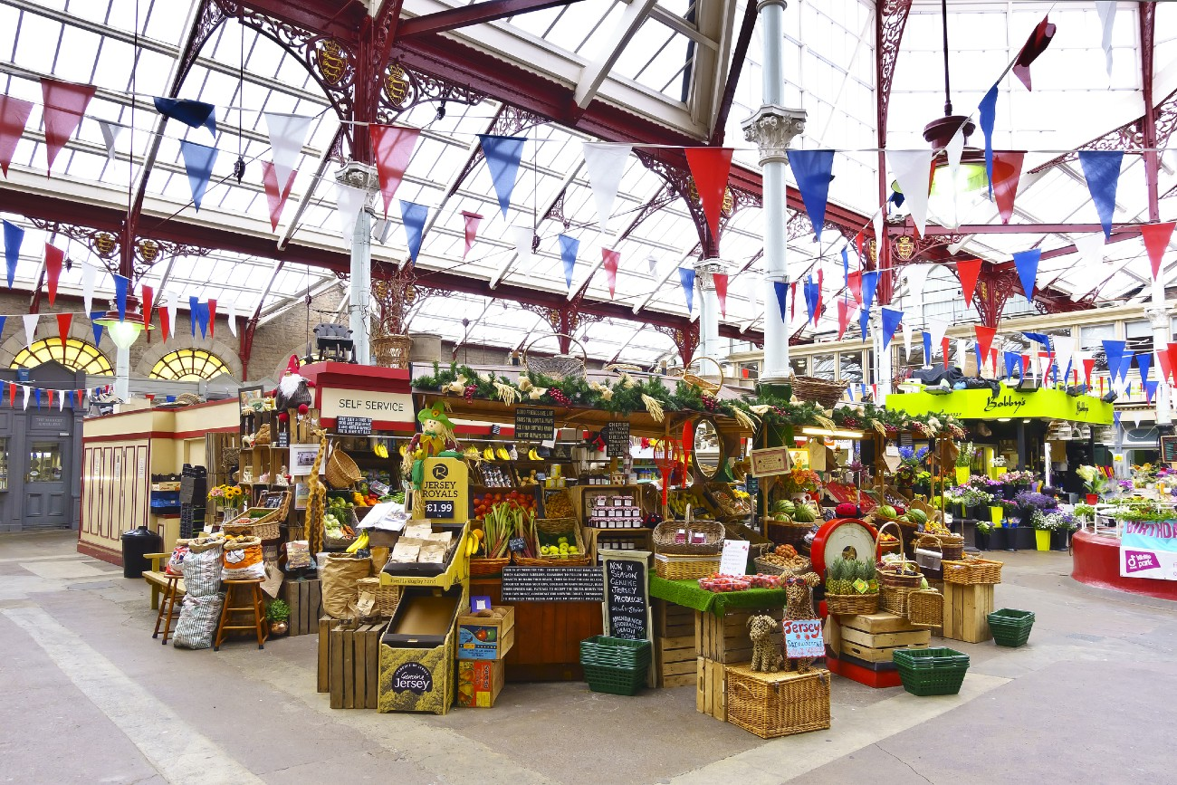Market in Jersey