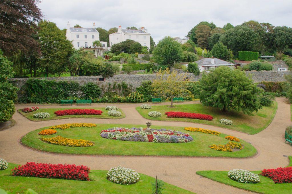 Candie Gardens, Guernsey, UK