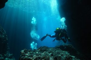 Diving in the Channel Islands