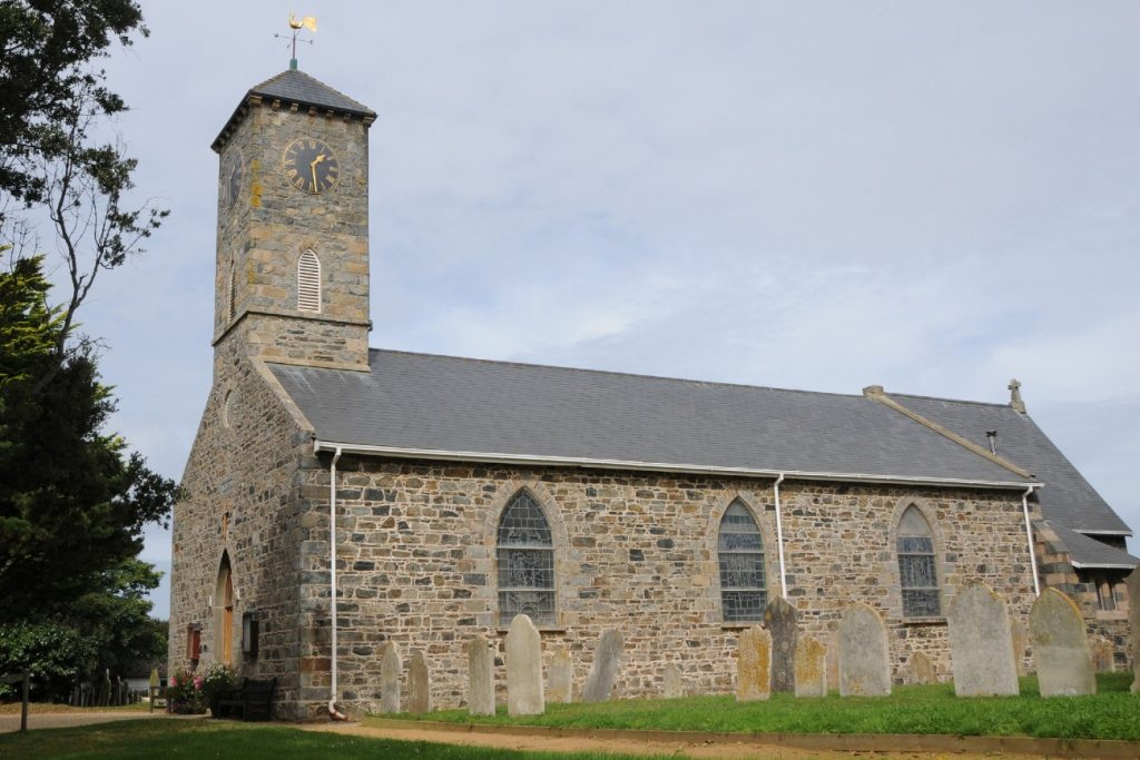 Church on Sark in the Channel Islands