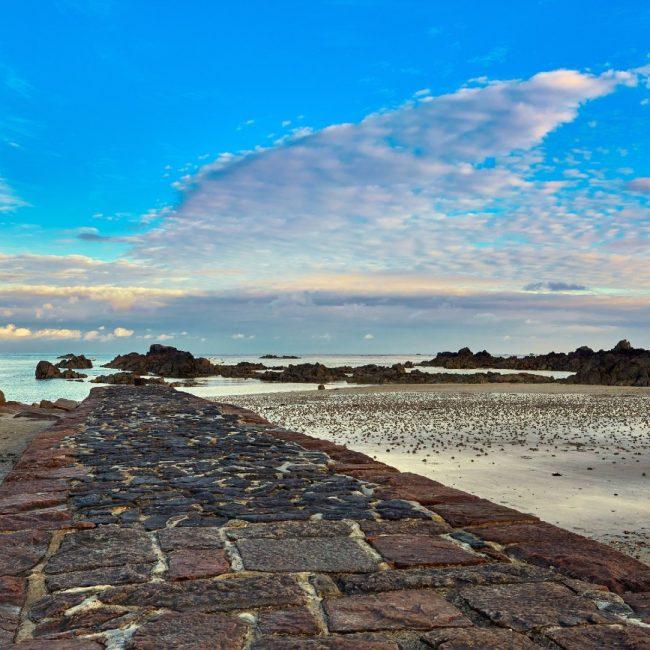 Green Island Pier, Jersey, Channel Islands