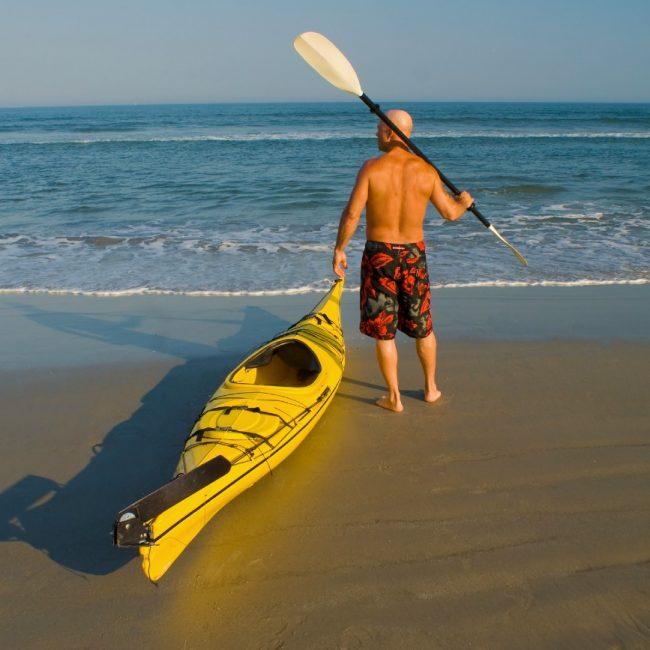 Kayaking in Alderney