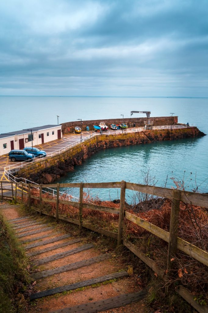 Bouley Bay harbour, Jersey