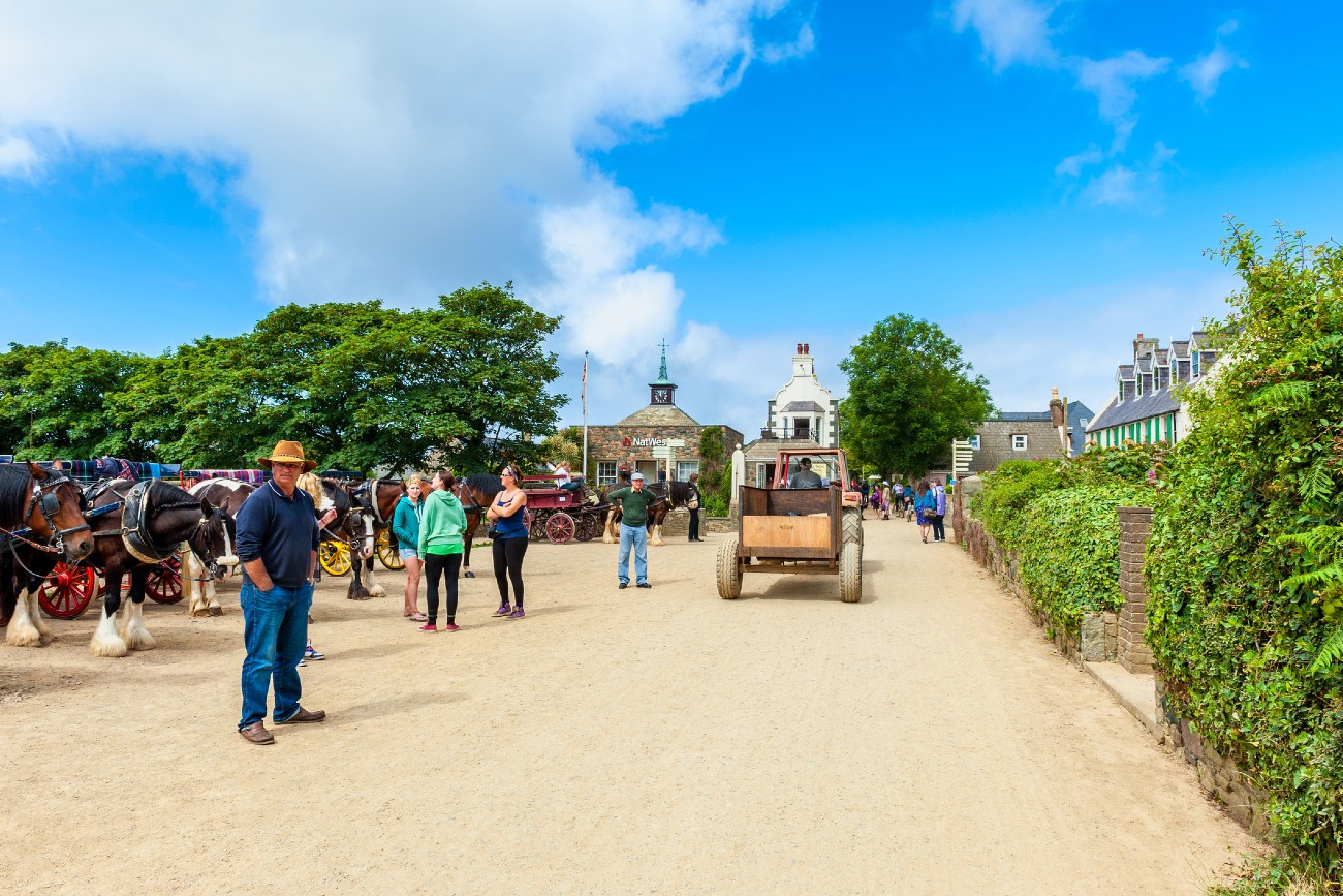 Centre of Sark, Channel Islands