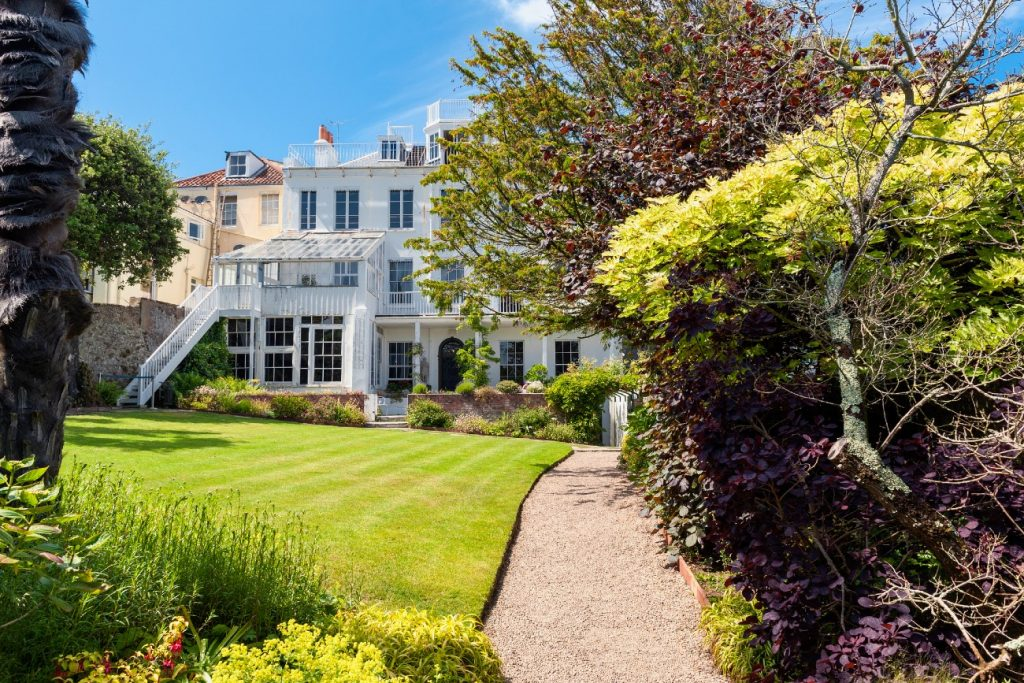 Hauteville House in Saint Peter Port, Guernsey