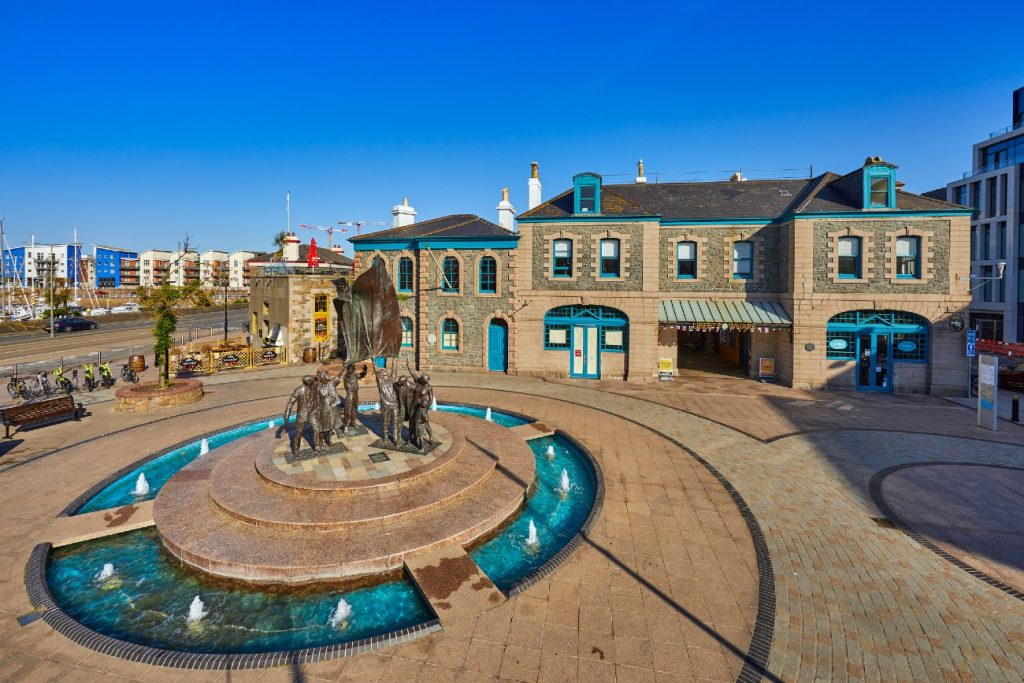 Liberation Square, St Helier, Jersey