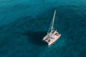 Sailing around Jersey