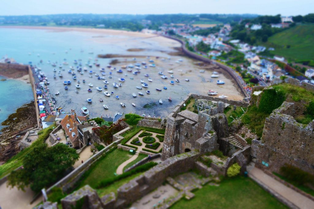 The view from Gorey Castle, Jersey